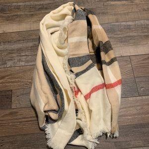 3/$22 Large Blanket Scarf